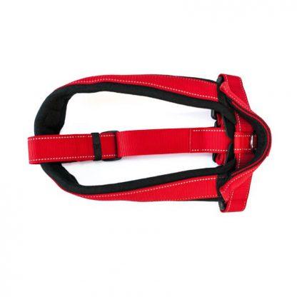Profesjonalne Patento Pet Szelki Sport czerwone