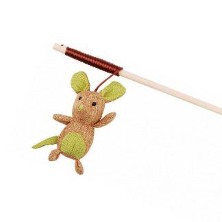 Trixie Wędka dla kota z myszką 40 cm