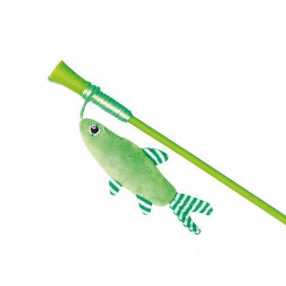 Trixie Wędka dla kota z rybką 42 cm