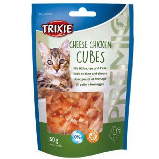 Trixie Cheese Chicken Cubes przysmak dla kota 50 g
