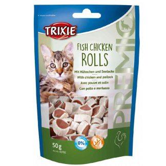 Trixie Fish Chicken Rolls przysmak dla kota 50 g