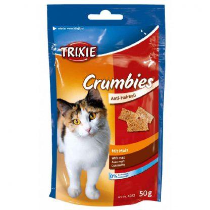 Trixie przysmak dla kota z pastą słodową Crumbies