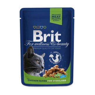 Brit Premium Cat Sterilised 100 g