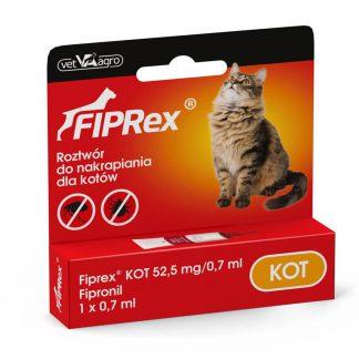 Firpex krople na pchły i kleszcze dla kota
