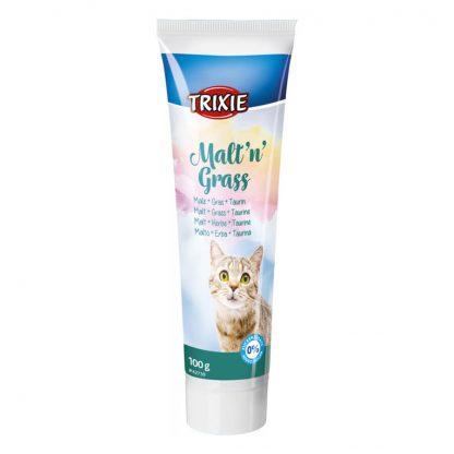 pasta dla kota z trawą trixie