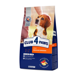 Club 4 Paws Adult Medium Breeds