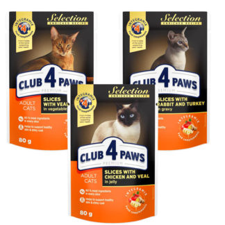 club 4 paws selection