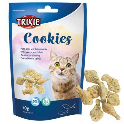 trixie cookies rybki dla kota ciastka