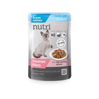 Nutrilove dla kota sterylizowanego łosoś