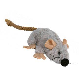 Myszka z kocimiętką dla kota pluszowa