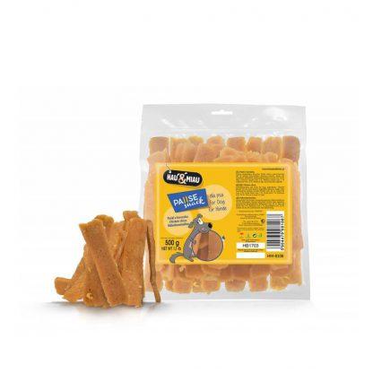 Paski z kurczaka Hau Miau 500 g
