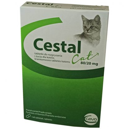 Ceva Cestal Kot tabletki odrobaczające