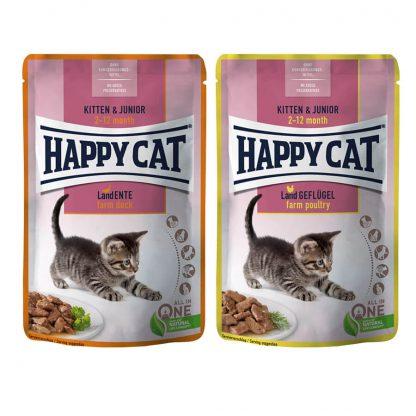 Karma dla kociąt happy cat