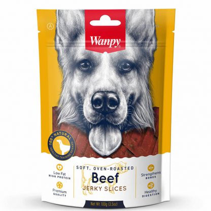 Wanpy Beef Jerky Slices 100 g