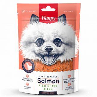 Wanpy Salmon Fish Bites 100 g