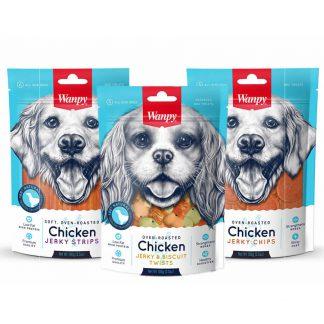 Wanpy z kurczakiem dla psa przysmaki