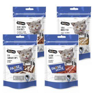 Hau Miau przysmaki dla kotów 60g